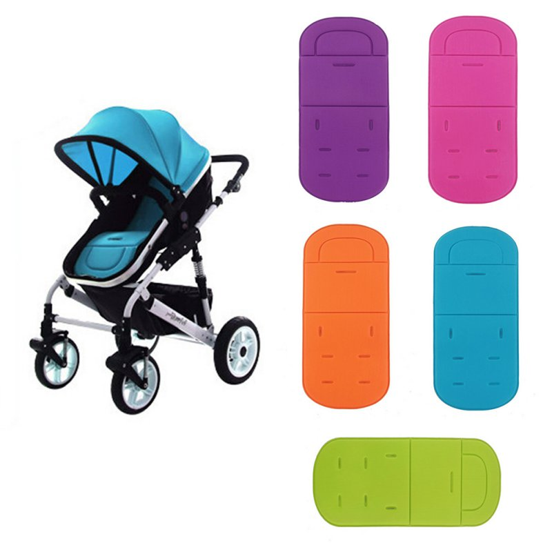 Baby Stroller Accessory Pushchair Car Auto Cotton Seat Padding Baby Pram Liner Pad Cushion ZV37