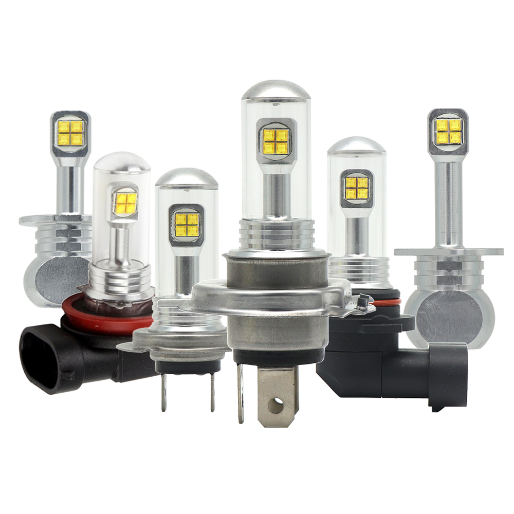 80 Watt H1 H3 H4 H7 H8 H11 9005 9006 H13 LED 1500lm Bulb Auto Scheinwerfer Nebelscheinwerfer Hallo-Lo Strahl 9600LM 6500 Karat 12 V 24 V DRL