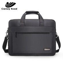 Wodoodporna Oxford 14 15.6 cal teczki na laptopa biznes mężczyzn torebki na co dzień torba na ramię dla mężczyzn moda Messenger torba moda