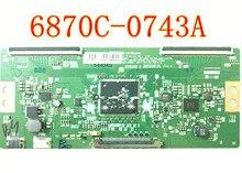 For LG T-Con 6870C-0743A Logic Board LCD TV 60 Inch LCD Changhong Konka Hisense Skyworth Accessories Logic Plate Bar