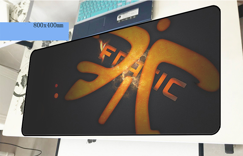 fnatic mousepad gamer cool new 800x400x2mm gaming mouse pad large Adorable font b notebook b font