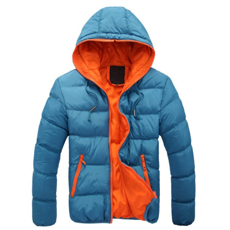 New Men's Winter Hot Coats Fashion With Cotton Hooded Hood Toward Casual Short Casual Parka Men's Hooded Hooded Jacket S4