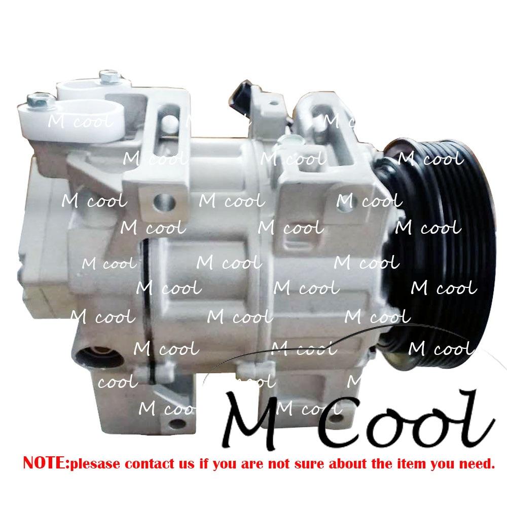 Высокое качество Новый DCS171C AC компрессор для автомобиля Nissan Altima L4 2.5L Sentra L4 2.5L 2007-2012 92600JA00A 92600ZN40B 5632006030