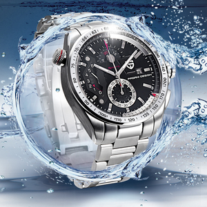 Image 5 - PAGANI עיצוב 2020 חדש למעלה קוורץ שעונים גברים ספורט לוח שנה עמיד למים נירוסטה צבאי שעון Relogio masculino