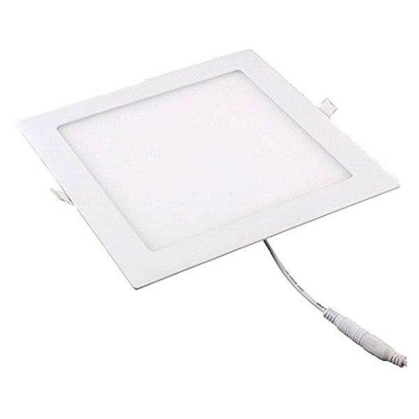 18 Вт LED площадь встраиваемые потолочные Панель Подпушка свет ультра-тонкий Подпушка лампы для Обеденная, конференц-зал и офис (белый)