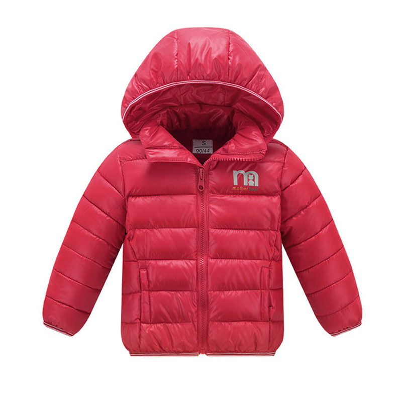 Yorkzaler Winter Girl Boy Down Jacket Warm Hooded Long Sleeve Kids Clothing Solid Color Russia Outerwear Children's Coats movie figure 16 cm star wars revo 005 boba fett pvc action figure collectible model toy brinquedos christmas gift