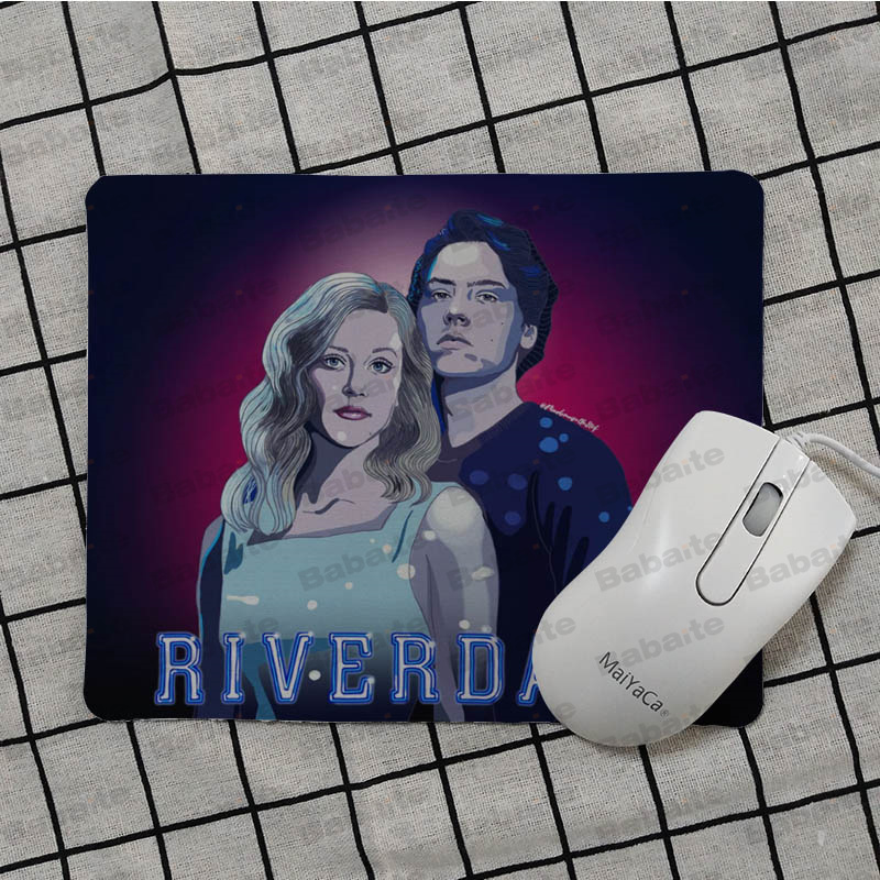 Babaite Hot Sales American TV Riverdale Office Mice Gamer Soft Mouse Pad Top Selling Wholesale Gaming Pad mouse in Mouse Pads from Computer Office