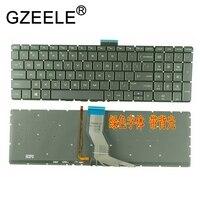 GZEELE جديد الولايات المتحدة لوحة مفاتيح الكمبيوتر المحمول ل HP بافيليون 15-AU 15-au000 15-aw000 15-bk000 15-bc 15-bc000 15-ak000 15-AN الخلفية لا الإطار