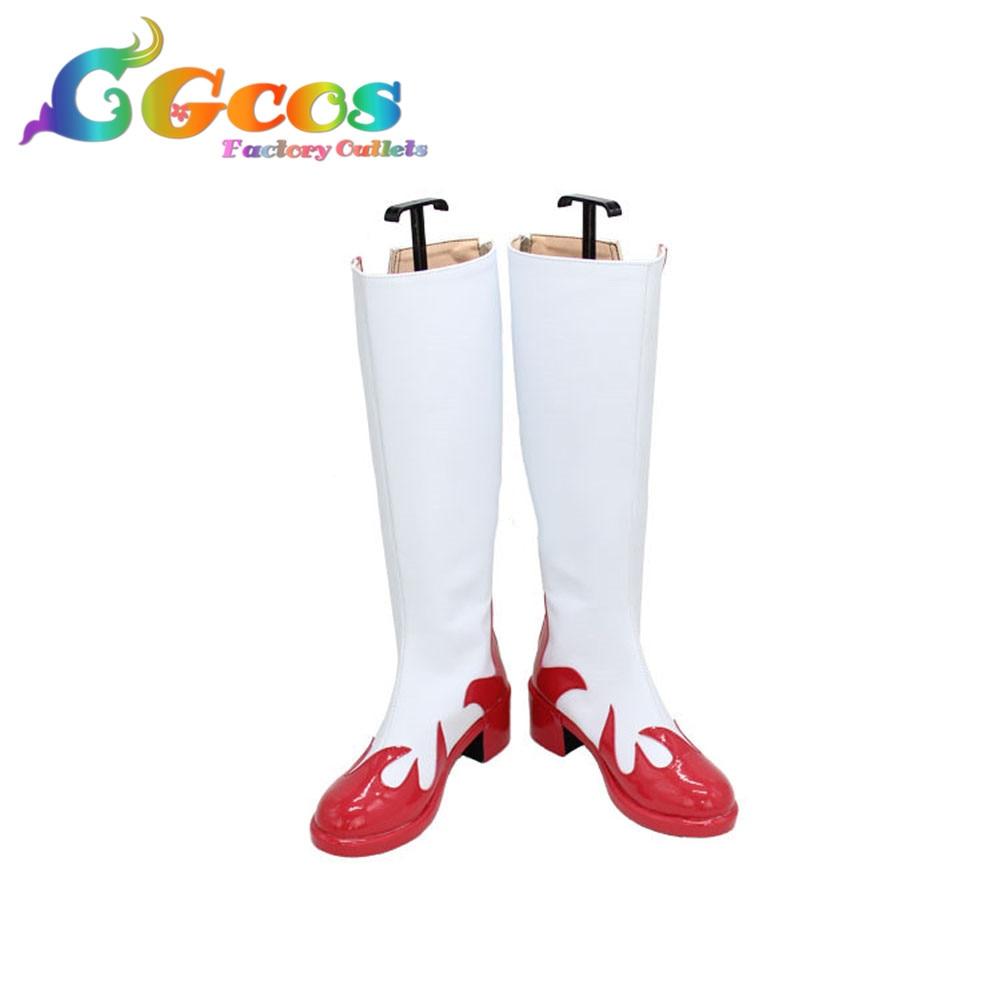 CGCOS Free Shipping Cosplay Shoes D0272 Tengen Toppa Gurren Lagann Yoko Boots Anime Game Halloween Christmas