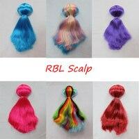 RBL,Blyth doll,Scalp toupee, including the skull, A8E51 straight hair series.