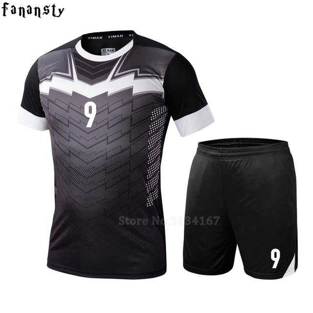 ee2441ea2 College soccer jerseys men custom football jerseys soccer uniforms youth  adult football set suit maillot de foot 2016 2017