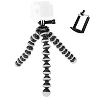 2017 Large Octopus Flexible Tripod Stand Gorillapod For Gopro Hero 4 3 3 Sj40 Camera Digital