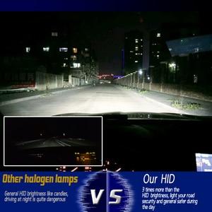 Image 2 - COOLFOX AC 12 V 55 W Xenon żarówki 9006 9005 HB4 HB3 H11 H4 H7 reflektory ksenonowe statecznik hid światła z jednostka zapłonu zestaw 24 V lampa samochodowa