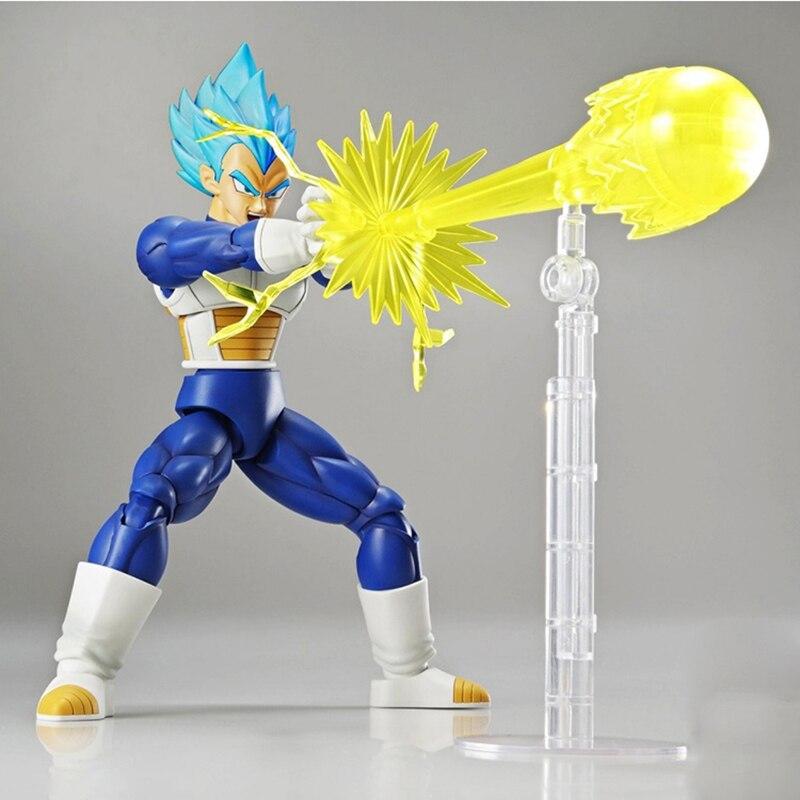 Original Dragon ball super saiyan Figure-hausse SSJ goku dieu super saiyan son gokou/végéta bleu cheveux assemblage jouet