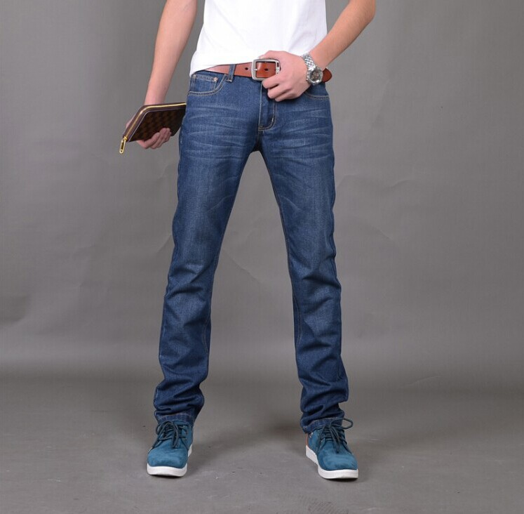 f80c31f372e3 New Arrival Famous Brand Jeans For Men Cheap Jeans China Straigh Regular  Fit Denim Jeans Pants Classic Blue Colour Size 28 To 38