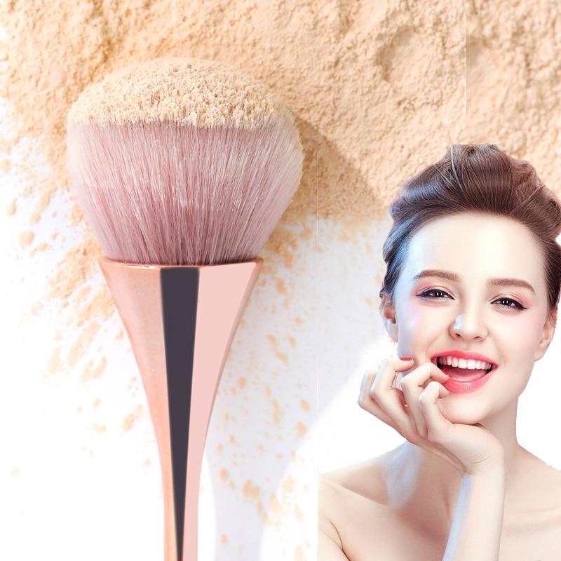 Brainbow 1PC Handle Makeup Brush Cosmetic Foundation Brushes Plastic Handle Eye Shadow Highlighter Loose Powder Blush Brush