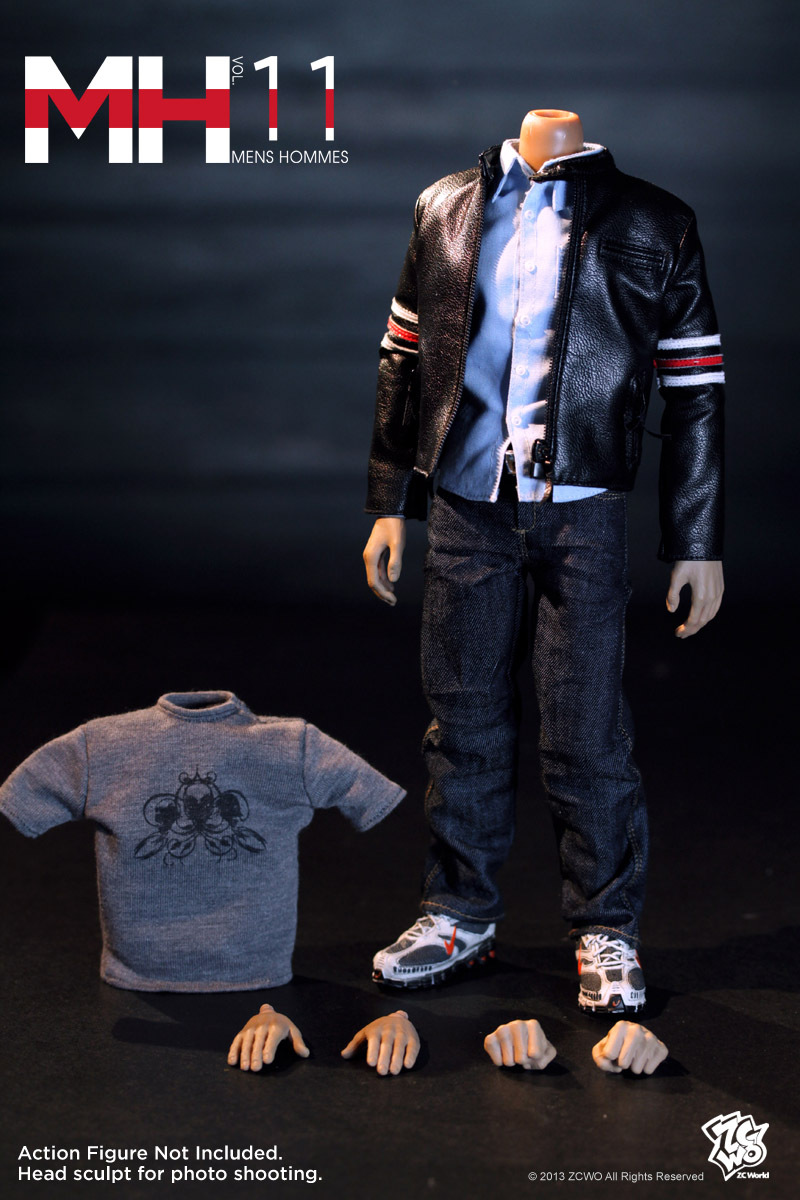 1/6 scale figure clothes for 12
