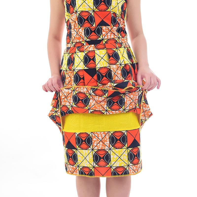 Nouveau robes africaines pour les femmes style de gâteau femmes - Vêtements nationaux - Photo 3