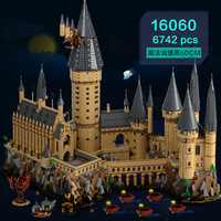 Гарри, Кино серии Замок Хогвартс 6742 шт модель строительные наборы игрушки для детей Совместимые Legoings строительные наборы