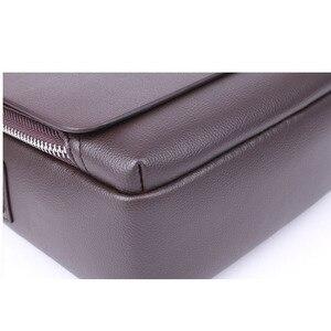 Image 5 - New Arrived luxury Brand mens messenger bag Vintage leather shoulder bag Handsome crossbody bag handbags Free Shipping