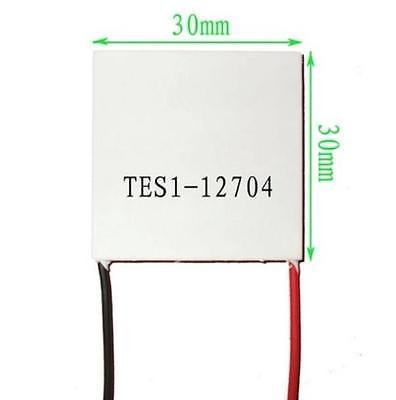 Slim TES1-12704 12V Heatsink TEC Thermoelectric Cooler Peltier 30mm*30mm