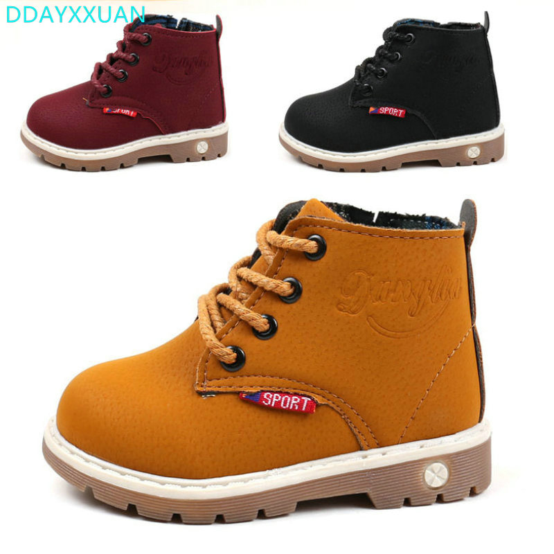 2017-New-Fashion-children-Shoes-boys-girls-snow-boot-shoes-kids-spring-autumn-high-quality-baby-martin-boot-child-ankle-boot-4