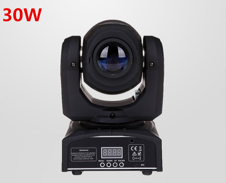 Led 4IN1 30W mini led spot moving head light Mini Moving Head Light 30W DMX dj 8 gobos effect stage lights/ktv bar disco fast shipping hot 4pcs lot led 4in1 30w mini led spot moving head light mini moving head light 30w dmx dj 8 gobos effect stage