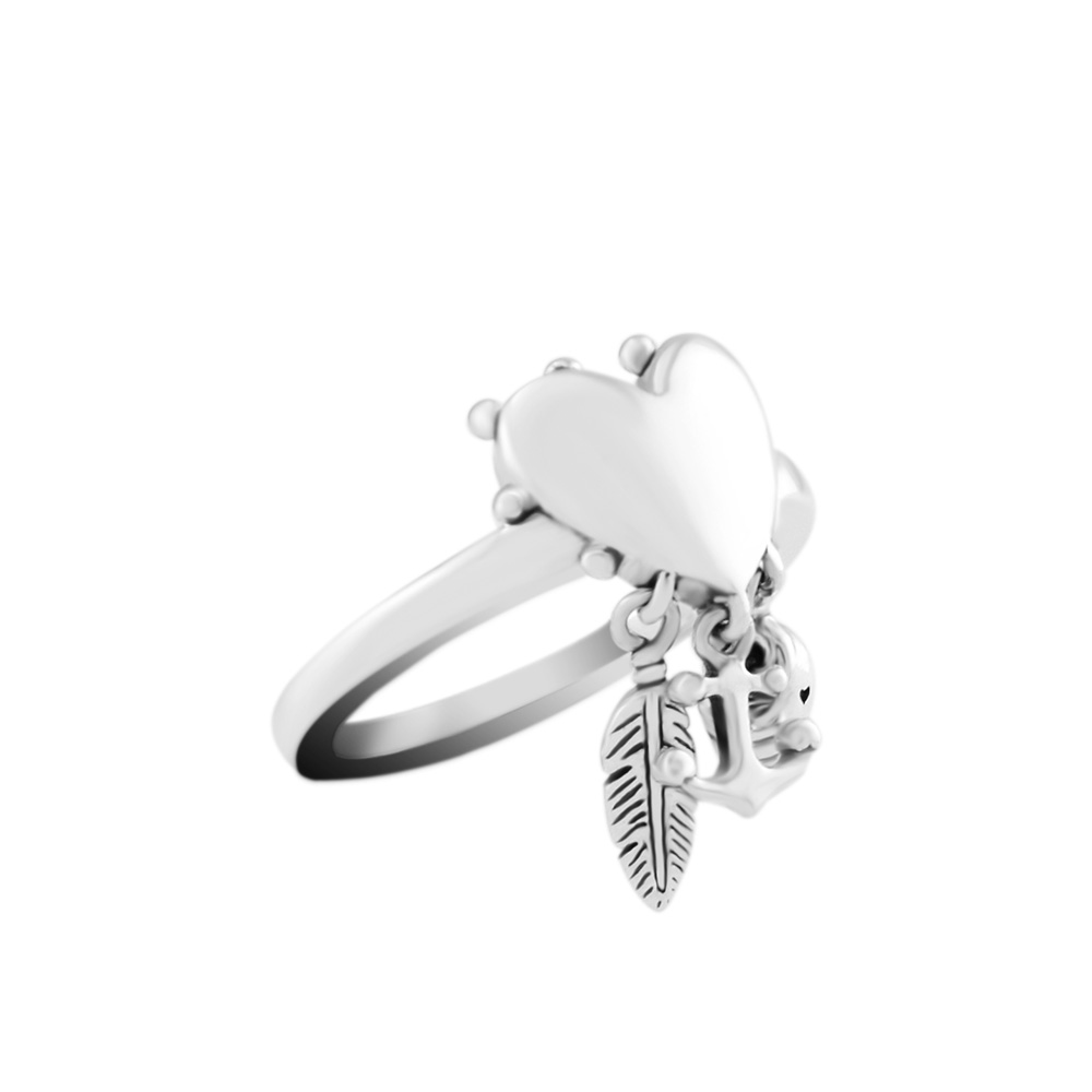 Ring Spiritual Symbols Rings for women Anel masculino silver 925 jewelry men anillos 925 sterling silver wedding Ring women spiritual help seeking behavior