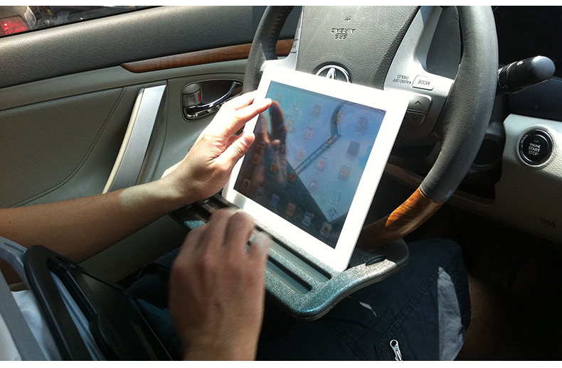 Autó iPad tartóállvány tartó Telefon állvány tartó - Autó belső kiegészítők - Fénykép 6