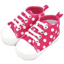 Новое поступление новое милый младенческий удобные малышей мальчик девочка обувают холст обувь