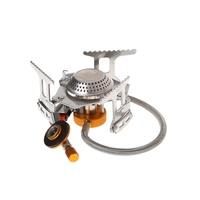 3500W Portable Outdoor Folding Gas Stove Camping Equipment Hiking Picnic Igniter