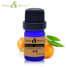 Vicky&winson Sweet orange Essential Oil 5ml Brightening and Moisturizing Skin Help Gastrointestinal Aromatherapy VWXX57