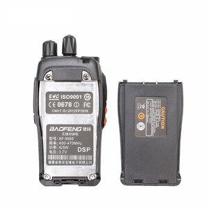 Image 5 - 2 Stuks 100% Origineel Baofeng BF 999s Uhf Hotel Communicator Handheld Transceiver Ham Radio Zaklamp 999S Cb Radio Walky Talky