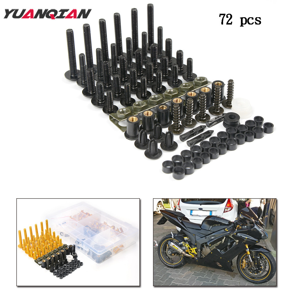 Motorcycle Accessories Custom Windscreen fairing Screw Bolt FOR YAMAHA YZF R1 R6 R3 MT07 2005 2006 2007 2008 2009 2010 2011 2012 motorcycle parts cnc fairing bolt screw fastener fixation for yamaha fz1 fazer 2006 2013 2007 2008 2009 2010 2011 2012 06 07 13