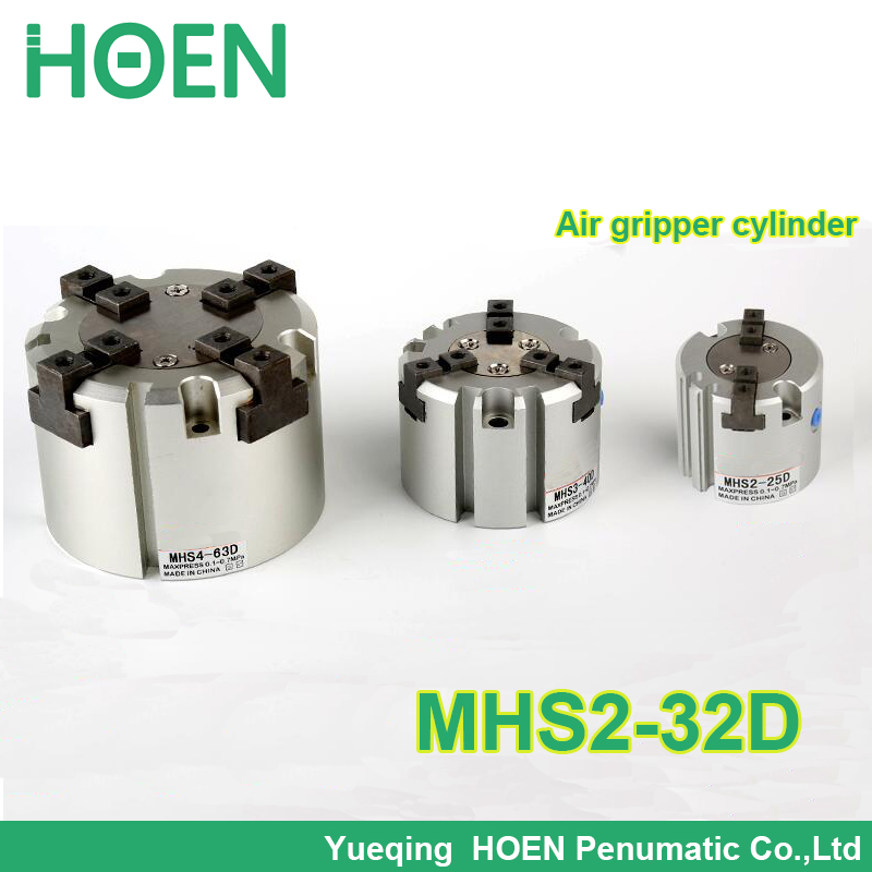 все цены на MHS2-32D SMC type 2 Finger MHS2 series parallel type air gripper penumatic cylinder MHS2 32D онлайн