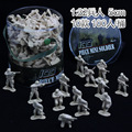 100 PCs upgraded version model 5CM 1:32 troopers military toy soldiers toy children YC