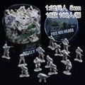 100 Unids versión mejorada modelo 5 CM 1:32 soldados militares soldados de juguete juguete niños YC