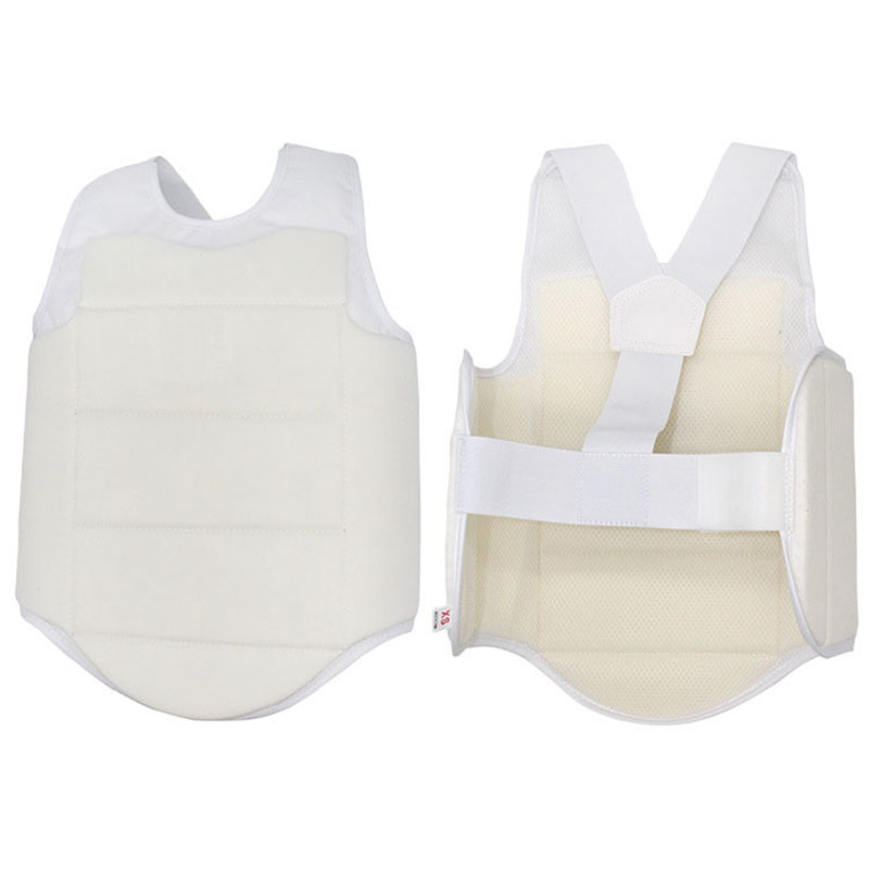 YS02 Adult Child Taekwondo Karate Chest Guard Vest Boxing Karate Breast Protector Karate Chest Protection Equipment-in Other Fitness & Bodybuilding Products from Sports & Entertainment    3