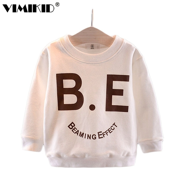 3dfa95fc46a6 VIMIKID Boys  T shirts long sleeves autumn clothes 2018 new babies ...