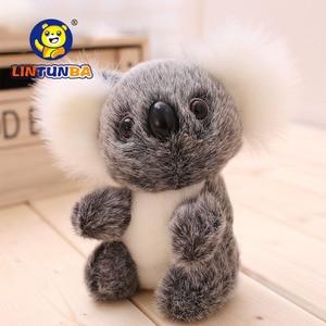16CM New Arrival Super Cute Small Koala Bear Plush Toys Adventure Koala Doll Birthday Christmas Gift PT024(China)