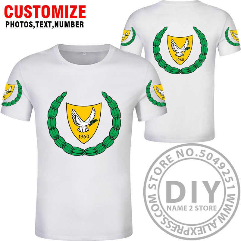 Футболка на заказ, Бесплатная доставка по индивидуальному заказу, cyp футболка с цифрами, Национальный флаг, cy, греческая страна, киприотская Республика, печать, фото, одежда