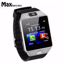 Maxinrytec Smartwatch DZ09 Smart Watch Men Women with Camera Sim tf Card Slot Passometer Smart Anti-lost fitness tracker PK A1