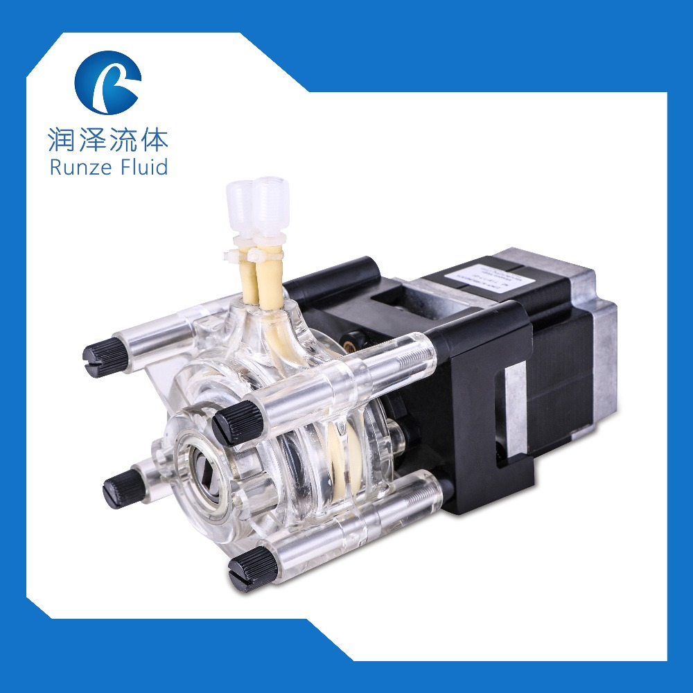 3/6 Stainless Steel Rollers Peristaltic Pump For Liquid Corrosive Detergent