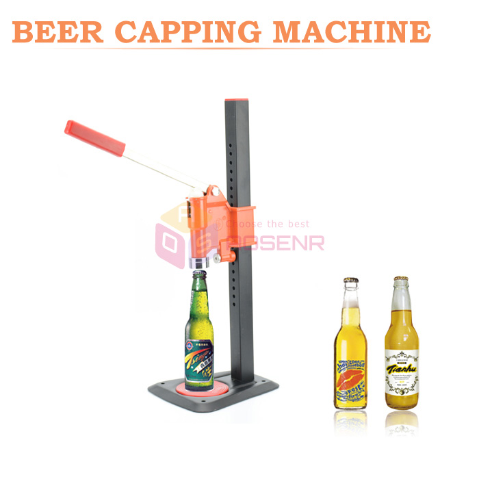 Beer Bottle Capping Machine Manual Beer Lid Sealing Capper Soft Drink Capping Machine Soda Water Capper
