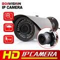 HD 1080 P Bala IP Câmera de 2MP POE Visão APLICATIVO Móvel À Prova D' Água Onvif P2P Lente Auto Iris 2.8-12mm VariFocal CCTV IP Câmera Ao Ar Livre