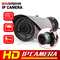 HD 1080P Bullet IP Camera 2MP POE Waterproof Mobile APP View Onvif P2P Auto Iris 2.8-12mm VariFocal Lens CCTV IP Camera Outdoor