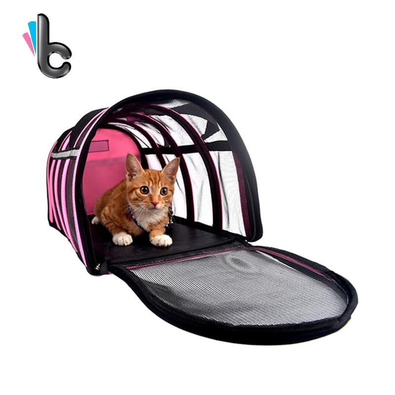 Pet Dog Cat Portable Travel Carrier Tote Bag Crates Shoulder Bag Handbag Easy Carry Pet