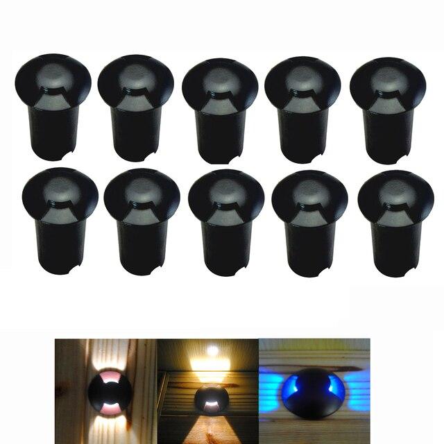 Pack van 10 LED Stap Vloerlamp Waterdichte Tuin Grondspot ...