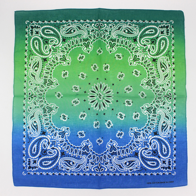 100% Cotton Bandana Square Scarf  2