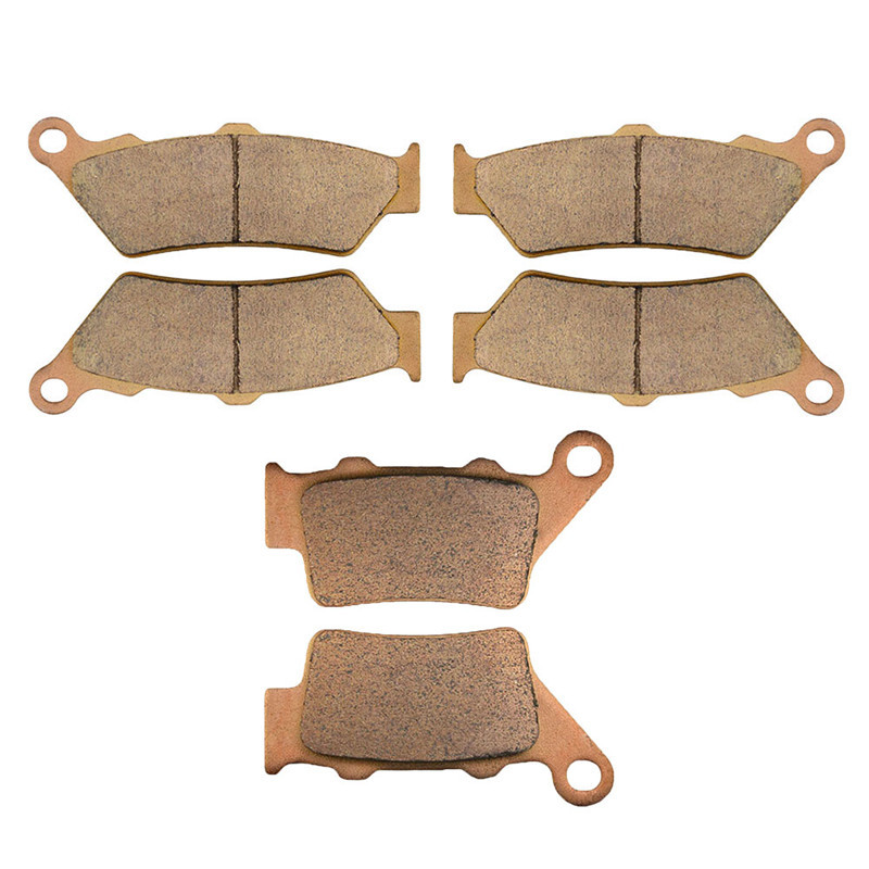 Motorcycle Parts Front & Rear Brake Pads Kit For BMW F800GS F800 F 800 GS 2008 2009 Copper Based Sintered motorcycle parts copper based sintered motor front
